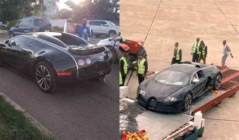 Authorities in zambia have seized a bugatti veyron that was imported into the country on monday, pending investigations into possible money laundering. $2.8m Bugatti Veyron seized in Zambia, owner's source of income to be investigated - Judith Caleb