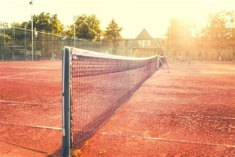 close   clay tennis court wall mural wallpaper canvas art rocks