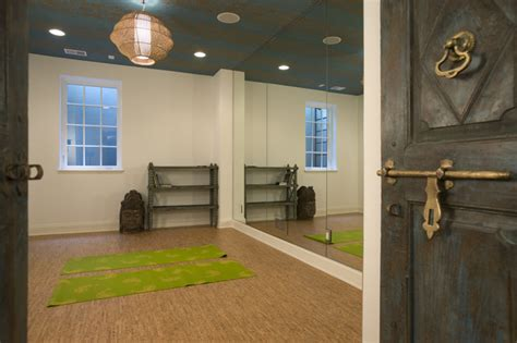 Yoga Room  Mediterranean  Home Gym  Minneapolis By