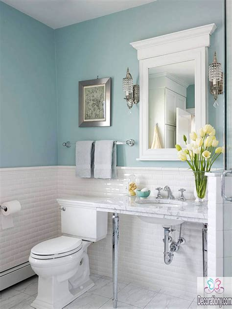 design bathroom 10 affordable colors for small bathrooms decoration y