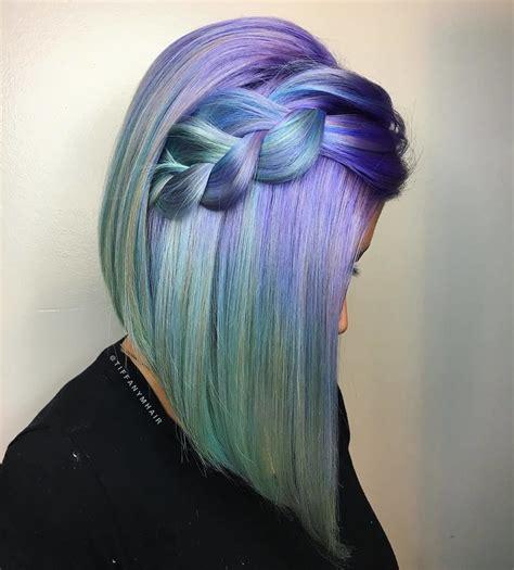 Pin By Rebecca On Mermaid Hair Hair Hair Styles Hair Color