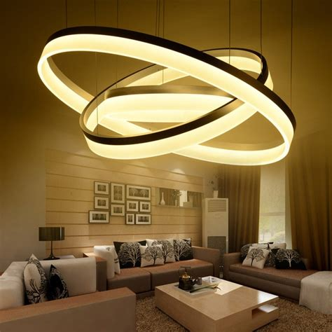 Living Room Ceiling Lights Canada by 1 2 3 Acrylic Led Ceiling Light Home Living Room Bedroom