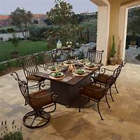 fire pit dining table Fire Pits Reach New Heights – Literally! | Rich's for the ...