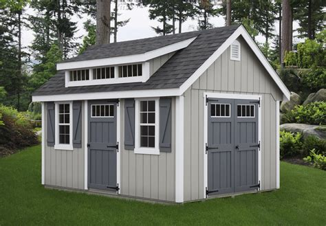With Storage Shed by B B Structures All American Wholesalers