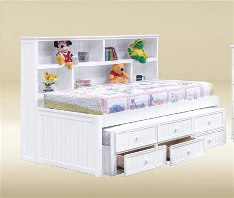 100 white full size bed frame storage underneath