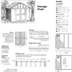 free 10x10 shed plans how to build diy blueprints pdf