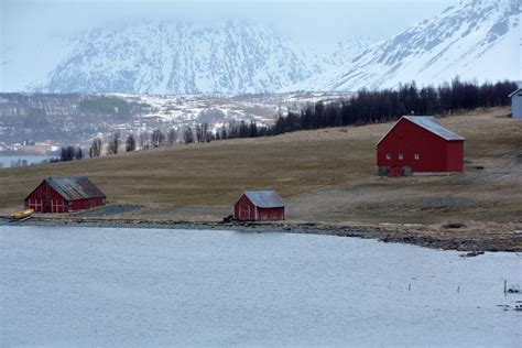 Side Of Boat Sheltered From Wind by The Barents Sea And Lofoten Fishery