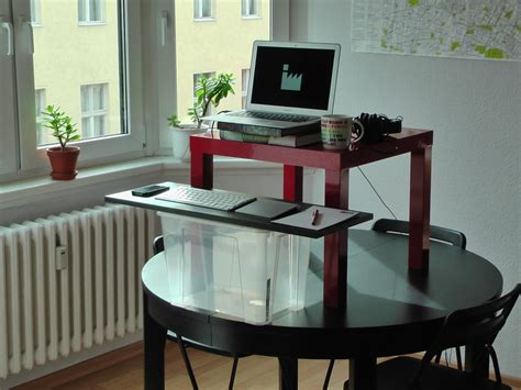 build your own adjustable standing desk build your own stand up desk the easiest and cheapest way