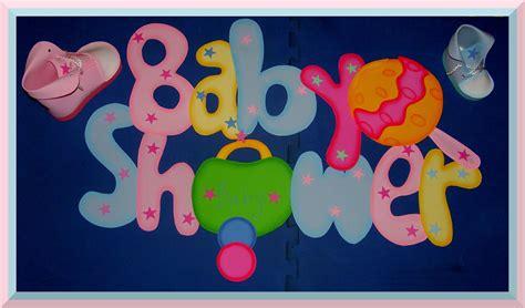 Letrero foamy baby shower (con imágenes) Letreros Baby