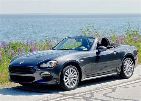Fiat Spider by Late Summer Lets Fiat 124 Spider Roll New Car Picks