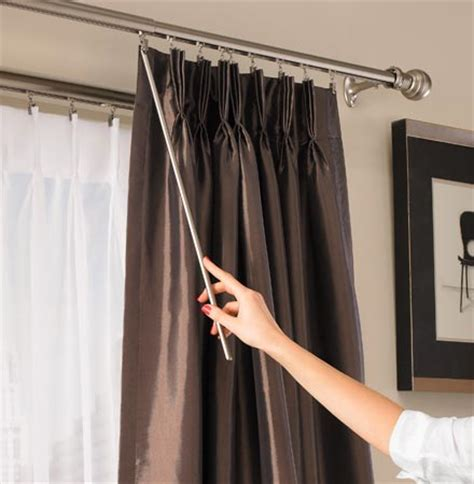hang curtain rods  curtains   laser level