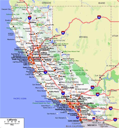 maps  california