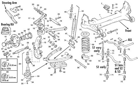 Jaguar Suspension Parts by Jaguar Xj Front Suspension