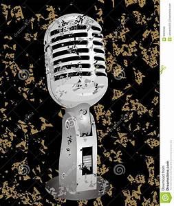 Vintage Microphone Royalty Free Stock Image - Image: 33295506