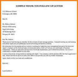 Follow Up Letter After Fair by Affordable Price Cover Letter Sle For Fair