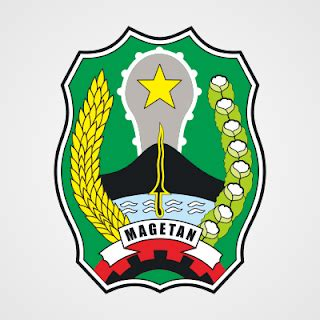 logo kabupaten magetan cdr file coreldraw