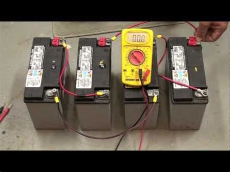 Wiring Batteries Series Parallel Youtube