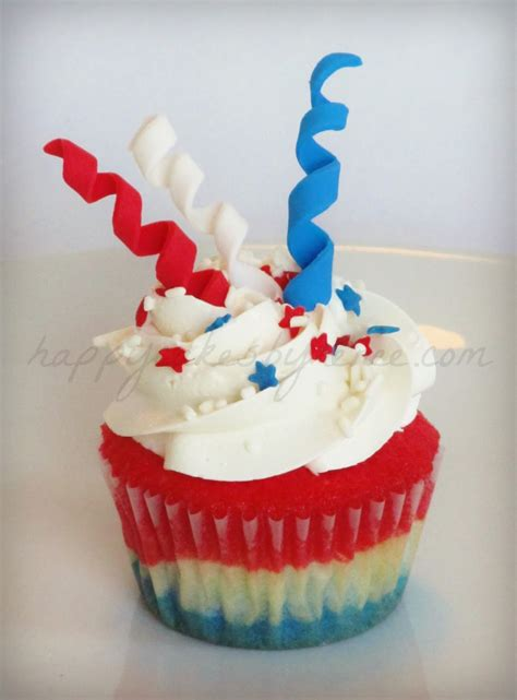 4th of july cupcake happy cakes bakes 4th of july firework cupcakes