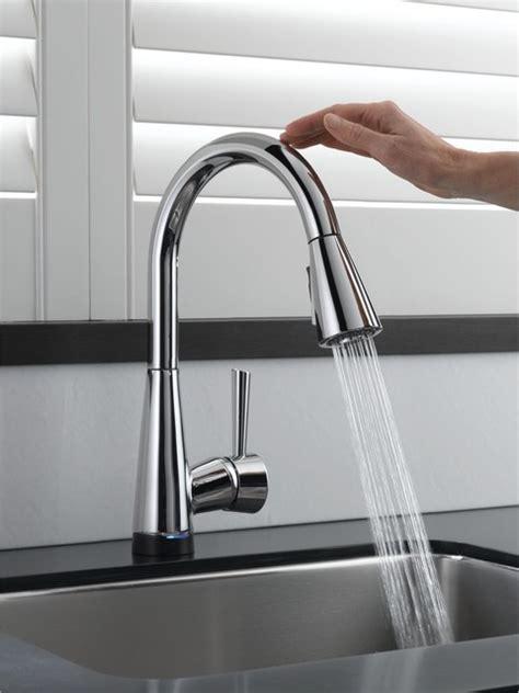kitchen faucets touch brizo venuto smarttouch faucet contemporary kitchen