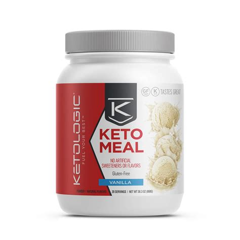 Amazon.com: KetoLogic Ketogenic Meal Replacement Shake for