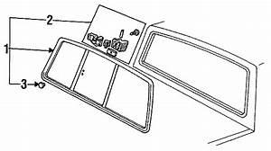 1993 Ford Ranger Sliding Window Latch  Sliding  Sliding
