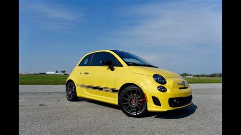 fiat  abarth review youtube