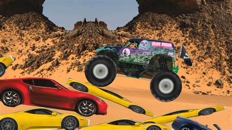 grave digger monster truck youtube monster truck grave digger cartoon youtube
