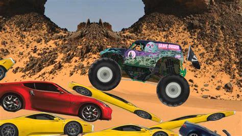 monster trucks youtube grave digger monster truck grave digger cartoon youtube