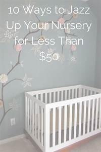 baby girl nursery ideas on a budget thenurseries With simple decorating girl nursery design