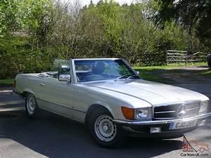 1982 Mercedes 280 Sl Auto Silver