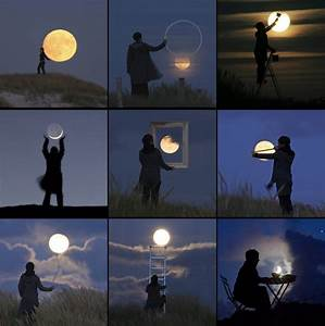 Photographer laurent lavender plays with the moon colossal for Photographer laurent lavender plays with the moon