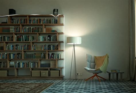 Beautiful Reading Corners Visualized by Reading Spaces