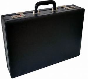 Professional Mens Leather Executive Black Briefcase with ...