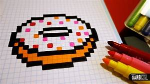Pixel Art Manger : handmade pixel art how to draw a kawaii donut by garbi ~ Melissatoandfro.com Idées de Décoration