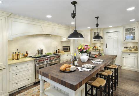 kitchen bench lighting glamorous butcher block island in traditional wilmington 2310