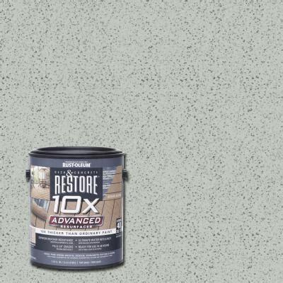 rust oleum restore  gal  advanced graywash deck