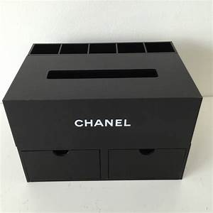 CHANEL - Chanel jewelry make up box organizer black