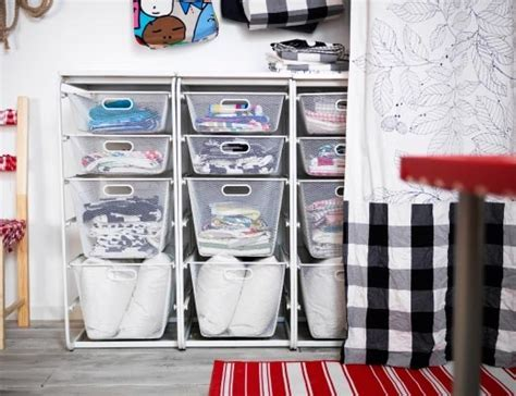 Creativity at work can take up space. Keep it organized