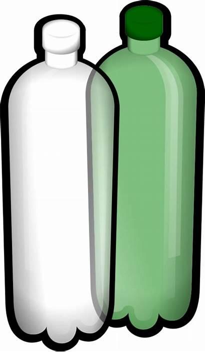 Bottle Cliparts Water Clipart Clip Empty Vector