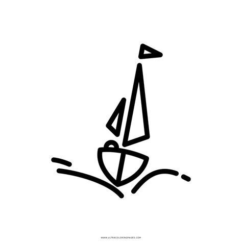 Dibujo Barco De Vela by Dibujo De Barco De Vela Para Colorear Ultra Coloring Pages