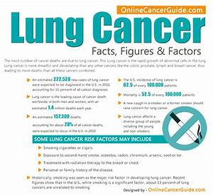 Lung Cancer Facts  Figures And Factors  Infographic