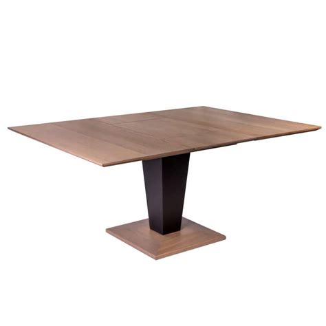 table carree extensible bois conceptions de maison blanzza
