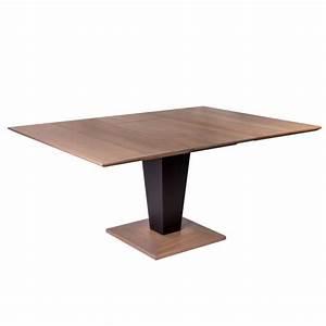 Table Carre Extensible : table carr e moderne extensible en bois philae 4 ~ Teatrodelosmanantiales.com Idées de Décoration