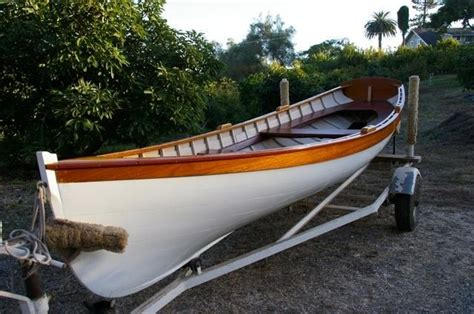 Free Used Boat History Report by 1979 Whitehall Wooden Row Boat Power Boat For Sale Www