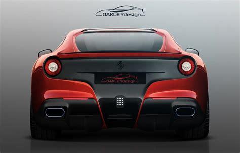 ferrari back view oakley design ferrari f12 berlinetta rear view egmcartech