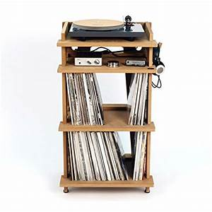 Bac A Vinyl : lowest prices line phono turntable station turntable stand vinyl record storage made in the ~ Teatrodelosmanantiales.com Idées de Décoration