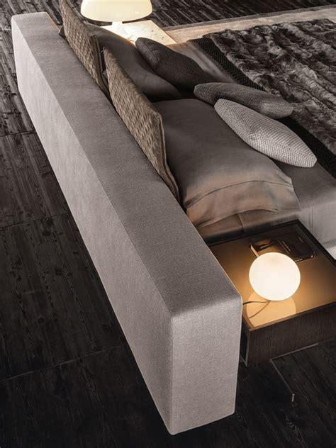 contemporary divan bed   minotti