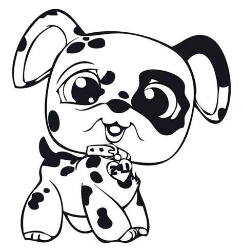 dalmatian   spots coloring pages
