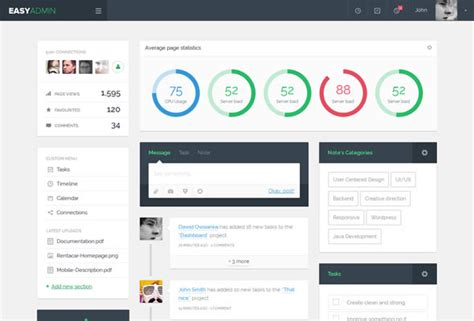 Html Template For Admin Panel by 28 Best Bootstrap Admin Themes That Actually Add Value