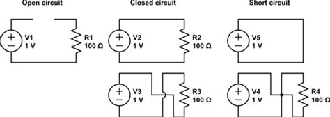 Voltage Open Short Circuit Questions Electrical
